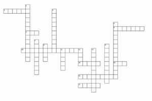 Porphyria Crossword
